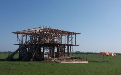 Commencement of 2nd Step of Community Center Construction in Jiresare Bgherkhaleh Village