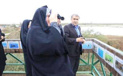 Green School Launched at Anzali Wetland EE Center