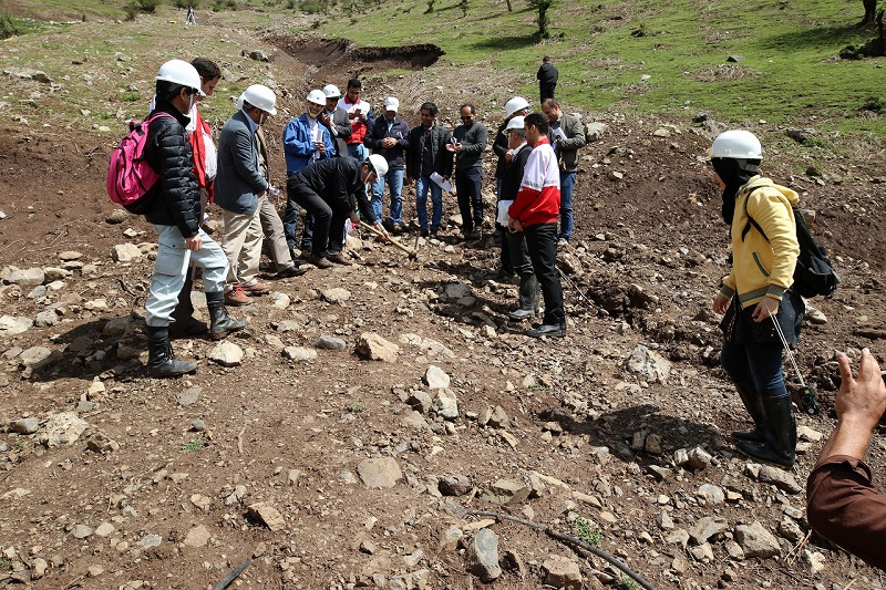 Ground-Breaking Ceremony for Mountainous Erosion Control at Alenze