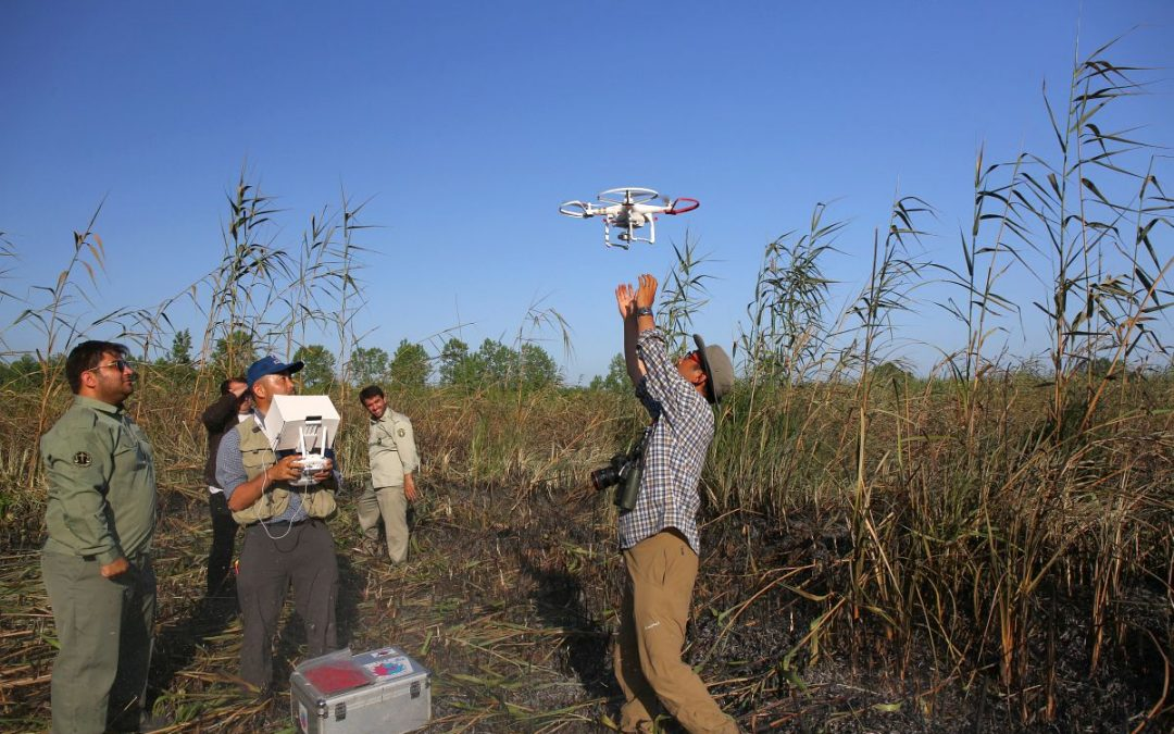 Multi-copter Supports Wildfire Monitoring