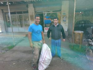 Waste Collection System in Dahanesar Sheijan Village