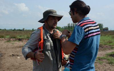 "Cast and Crew of TV Program ""Travel Love"" Visited Ecotourism Center in Jirsar Bagherkhaleh Village"
