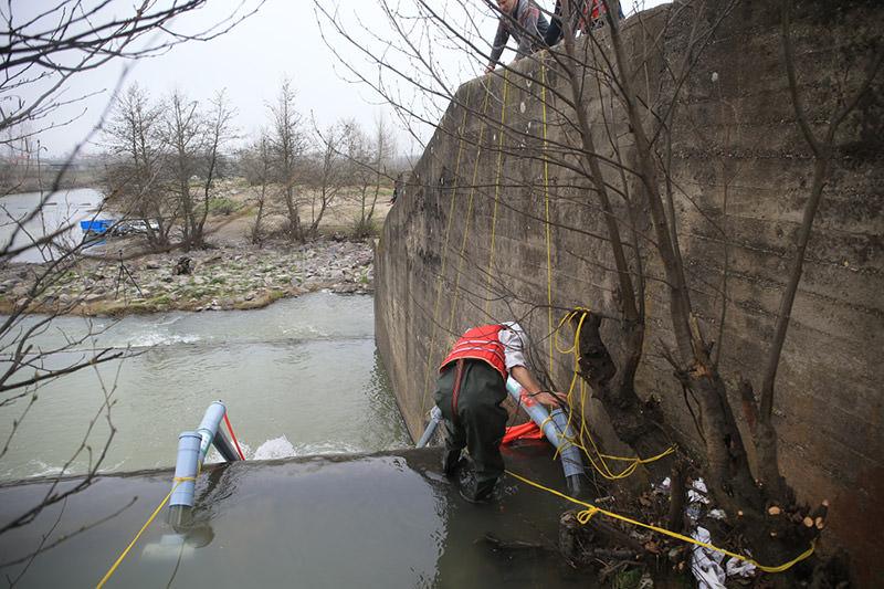 Fishway Installation anzali wetland