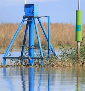 Installation of Water Level Gauge Stations anzali wetland