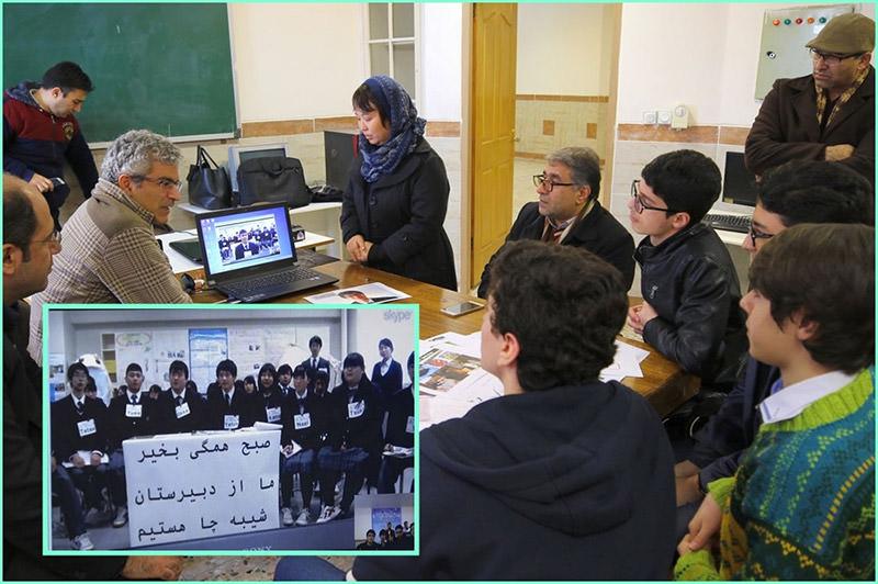 کنفرانس اینترنتی دانش آموزان رشت/ انزلی و کوشیرو