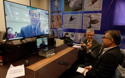 Internet Conference Held between Iranian NGOs and Japanese NGO